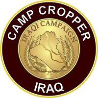 """Camp Cropper Iraq 5.5"""" Sticker / Decal"""