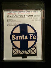 Miller Engineering Santa Fe Animated Billboard Sign Kit HO or O Scale 88-0551