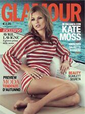 GLAMOUR ITALY,Kate Moss,Scarlett Johansson,Kelly Osbourne,Kori Richardson,Dewi
