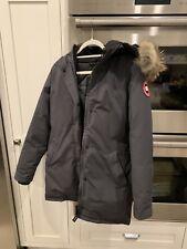 Women's CANADA GOOSE Victoria Parka, Small, Graphite Coat Jacket Slim Fit