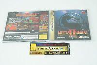 Mortal Kombat II 2 SS Aklaim Sega Saturn From Japan