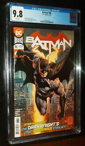 BATMAN #86 2020 DC Comics CGC 9.8 NM/MT White Pages