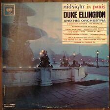 Midnight In Paris Duke Ellington LP Records Vinyl Album CL 1907