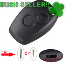 Renault Car Key Shell Remote Fob Cover Case  Without Blade 2 Buttons 2.5mm key