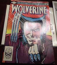 XMEN MARVEL COMICS WOLVERINE 1