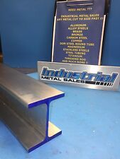"I Beam 6061 T6 Aluminum 3"" x .150"" x 2.5"" x 12""-Long"