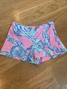 lilly pulitzer girls size 7 shorts