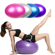 55/65/75/85 cm Yoga Ball Exercise Balance Gym Fitness Strength Workout With Pump