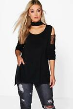 Boohoo Polyester Long Sleeve Women's Jumpers & Cardigans