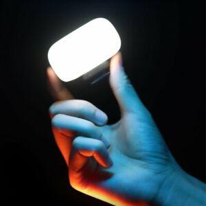 Ulanzi VL30 Mini LED Video Vlog Light+Soft Diffuser For Camera Gopro 9 8 7 6 5