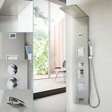 New Rainfall Spout Taps Screens Massage Jet Bathtub Faucet Shower Panels/Column