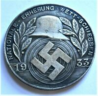 WW2 GERMAN COMMEMORATIVE COLLECTORS REICHSMARK COIN '33...