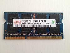 Hynix 4GB 2Rx8 PC3-10600S DDR3 1333MHz Laptop SDRAM HMT351S6BFR8C-H9
