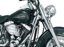 KURYAKYN DELUXE CHROME NECK COVERS FOR 2000-2006 HARLEY FLST FLSTC FLSTF FLSTN