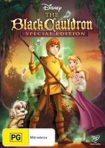 BLACK CAULDRON : NEW DVD
