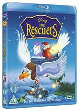 Disney THE RESCUERS - BLU-RAY - REGION B UK