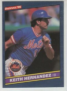 1986 Donruss Baseball New York Mets Team Set