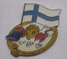 OLYMPIA SYDNEY 2000 MASCOT OLLY SYD MILLIE / FAHNE FINNLAND ... Pin (160h)