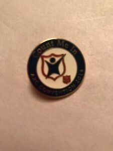 The Salvation Army Western Territory Count Me In Convention 2014 Collectible Pin