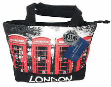 Robin Ruth London Red Telephone Boxes Shopper Bag
