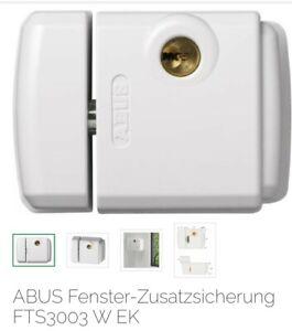 ABUS Fenster Zusatzsicherung FTS3003 Fensterschloss Fenstersicherung Weiß NEU !