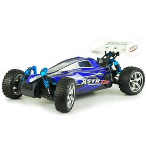 Hsp 1/10 Rc Car Xstr Brushless 4Wd Pro Remote Control Off Road Buggy Blue