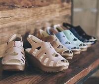 Skechers Womens Suede Peep-toe Slingback Wedges-Parallel Stylin' $51.5 TINI {&}