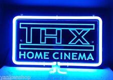 "SB152 THX Home Cinema beer Shop Bar theme Display Neon Blue Light Sign 11""x6.5"""