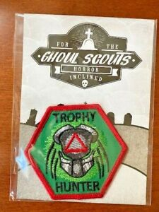 Ghoul Scouts Embroidered Patch Trophy Hunter Merit Badge NEW