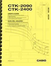 Casio CTK-2090 CTK-2400 Keyboard USER'S GUIDE OWNER'S MANUAL