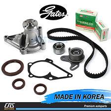 Gates HTD Timing Belt Water Pump Kit for 96-11 Hyundai Accent Kia Rio G4FK G4ED