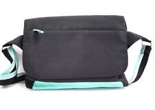 Radley Fabric Shoulder Messenger Bag Black Blue