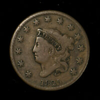 1825 CORONET HEAD 1C LARGE CENT ** FINE+ COIN, NICE EXAMPLE! Lot#X278
