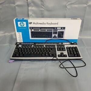 HP Multimedia Keyboard PS/2 Wired Model 5219 Hotkeys Function Keys Eject Button