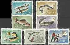 Timbres Poissons Hongrie 1910/6 ** lot 19846