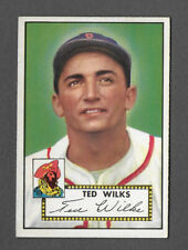 1952 Topps #109 Ted Wilks Pittsburgh Pirates St Louis Cardinals GREAT!