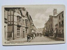 "Vintage Postcard Showing ""Church Street, Oswestry"", Shropshire"