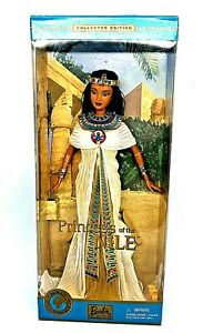 Barbie Princess of The Nile Dolls of The World Series 2001 Mattel 53369 NRFB