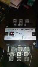 USED PULLOFF CUTLER HAMMER CONTACTOR C832KN6 SERIES C1 200 AMP 3 POLE
