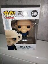 Pop Funko Action Figure Movie Bad Ape war Planet of the apes 455 Rare Bobble