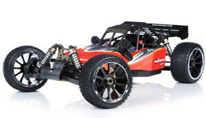 1/5th Exceed RC Barca 32cc Gas Off-Road RC Monster Truck 2.4G RTR AA Red