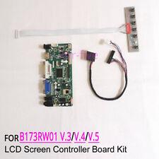 Fit B173RW01 V.3/V.4/V.5 40-Pin LCD panel 1600x900 LVDS driver board DIY kit