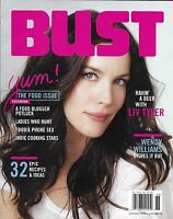 Bust Magazine Liv Tyler Wendy Williams The Food Issue Recipes Indie Cooking Star