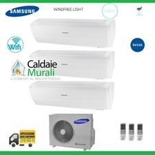CLIMATISEUR SAMSUNG TRIAL WINDFREE LIGHT WIFI 9000+9000+12000 +AJ052MCJ UN UN