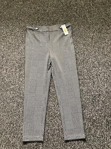 BNWT Women's Calvin Klein Smart Dogtooth Trousers Size US 10 (UK 12)