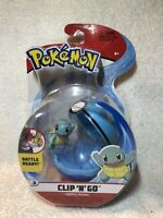 Pokemon Clip N Go Squirtle with Dive Ball Brand New!