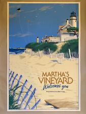 Laurent Durieux Martha's Vineyard Welcomes You JAWS Regular Not Mondo Print