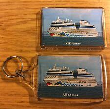 AIDA Cruises AIDAmar Fridge Magnet & Keyring Set - Cruise Southampton/Solent