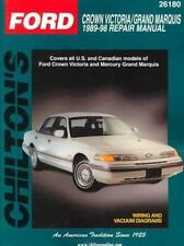 Ford-Crown Victoria/Grand Marquis 1989-98 (Chilton's Total Car Care-ExLibrary