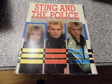 1984 STING and the Police WORLD TOUR PROGRAM FULL COLOR SOUVENIR BOOK